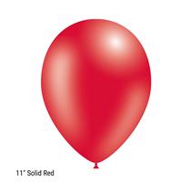 "Decotex Pro 11"" Fashion Solid Red Latex Balloons 50pk"