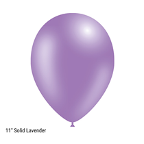 "Decotex Pro 11"" Fashion Solid Lavender Latex Balloons 50pk"