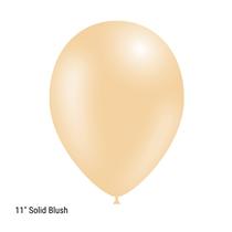 "Decotex Pro 11"" Fashion Solid Blush Latex Balloons 50pk"