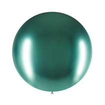 "Decotex Pro Chromium Green 24"" Latex Balloons 3pk"