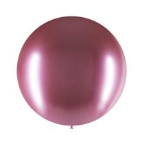 "Decotex Pro Chromium Mauve 24"" Latex Balloons 3pk"