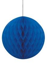 Royal Blue Hanging Honeycomb Decoration