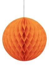 Orange Hanging Honeycomb Decoration