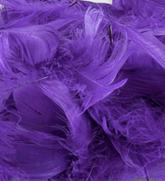 Eleganza Purple Mixed Feathers 50g
