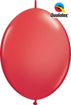 """12"""" Red Quick Link Latex Balloons - 50pk"""