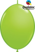 """12"""" Lime Green Quick Link Latex Balloons - 50pk"""
