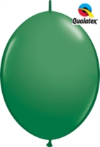 "12"" Green Quick Link Latex Balloons - 50pk"