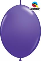 "12"" Purple Violet Quick Link Latex Balloons - 50pk"