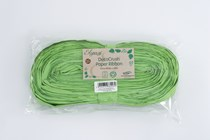 DecoCrush Lime Green Paper Ribbon 20m