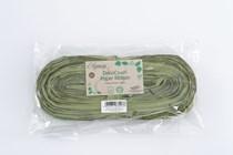 DecoCrush Sage Green Paper Ribbon 20m