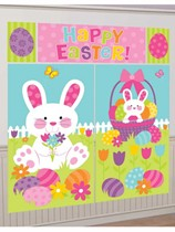 Easter Bunny Wall Decoration Kit 1.8M