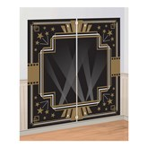 Hollywood Scene Setter Photo Booth Backdrop 2pce