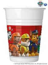 Paw Patrol 200ml Plastic Cups 8pk