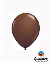 "Qualatex Fashion 5"" Chocolate Brown Latex Balloons 100pk"