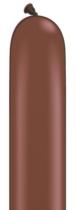 Qualatex 260Q Chocolate Brown Latex Modelling Balloons 100pk