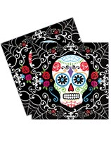 Halloween Day of the Dead Luncheon Napkins 36pk