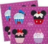 Mickey Mouse D-Lish Paper Napkins 20pk