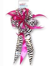Pink & Zebra Starburst IncrediBow Decoration