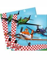20 Planes Paper Napkins