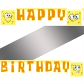 "SpongeBob Surfing ""Happy Birthday"" Banner"