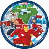 Avengers Assemble 8 Large Paper Plates