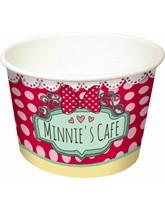 Minnie Cafe Ice Cream Bowls 8pk