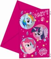 My Little Pony Sparkle Invitations and Envelopes 6pk