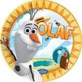 Frozen Olaf 23cm Paper Plates - 8pk