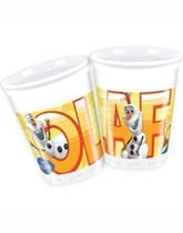 Frozen Olaf 200ml Plastic Cups - 8pk