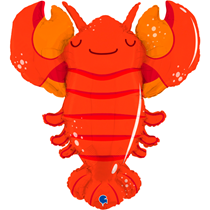 """Lobster 39"""" Large Foil Balloon"""