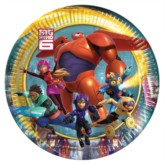 Big Hero 6 Small Paper Plates 8pk | Eat your lunch with Baymax