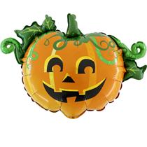Halloween Linky Scary Pumpkin Foil Balloon