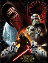 Star Wars The Force Awakens Plastic Tablecover