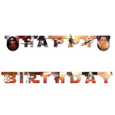 Star Wars Force Awakens Happy Birthday Letter Banner