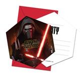 Star Wars The Force Awakens Invitations & Envelopes 6pk