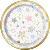"""Twinkle Little Star 7"""" Paper Plates 8pk"""