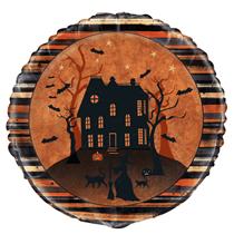"""Halloween Full Moon 18"""" Foil Balloon"""