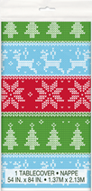 Christmas Ugly Jumper Plastic Tablecover