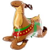 """Christmas 3D Reindeer 43"""" Foil Balloon"""