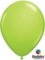 "16"" Lime Green Latex Balloons 50pk"