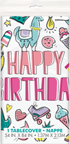Favourite Things Plastic Party Tablecover