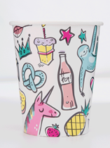 Favourite Things 9oz Paper Cups 8pk