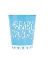 Blue Baby Shower 9oz Paper Cups 8pk