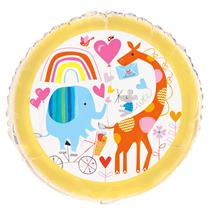 """Zoo Animals 18"""" Foil Balloon"""