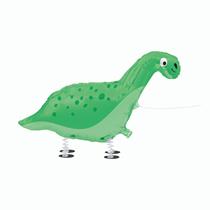 "Green Dinosaur Walking Pet 37"" Foil Balloon"