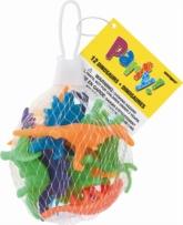 12 Plastic Dinosaurs - Party Favours