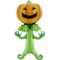 Halloween 5ft Spooky Pumpkin Foil Balloon