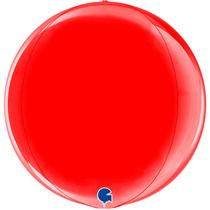 """Grabo Red Globe 15"""" Foil Balloon"""