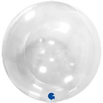 """Grabo Clear Globe 15"""" Balloon No Valve"""