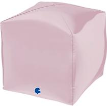 "Grabo 15"" Pastel Pink 4D Square Foil Balloon"